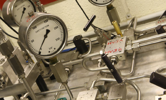 In-house pressure testing facility